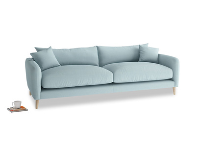 Large Squishmeister Sofa in Powder Blue Clever Softie