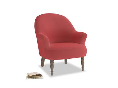 Munchkin Armchair in Carnival Clever Deep Velvet