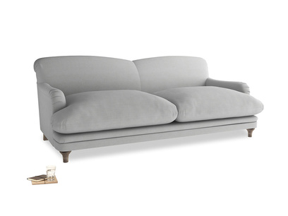 Large Pudding Sofa in Pewter Clever Softie