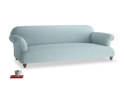 Extra large Soufflé Sofa in Powder Blue Clever Softie