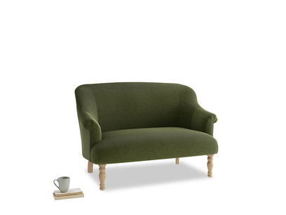 Small Sweetie Sofa in Leafy Green Clever Cord