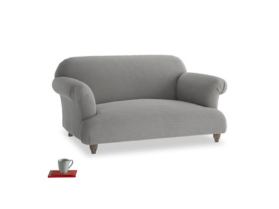 Small Soufflé Sofa in Cloudburst Bamboo Softie