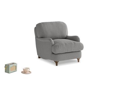 Jonesy Armchair in Cloudburst Bamboo Softie