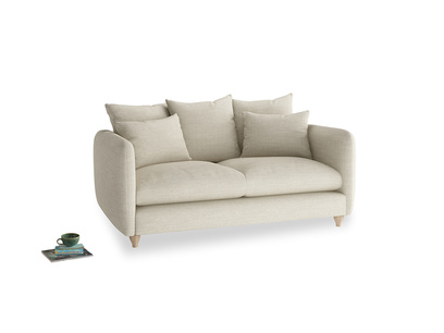 Medium Podge Sofa in Shell Clever Laundered Linen