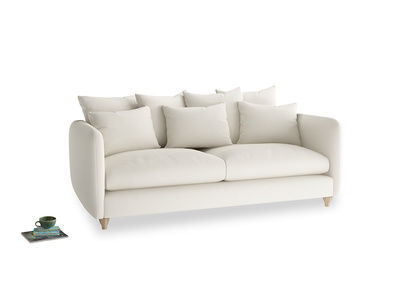 Large Podge Sofa in Chalky White Clever Softie