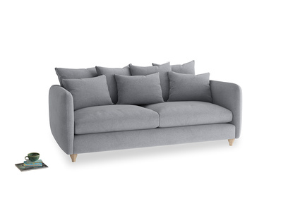 Large Podge Sofa in Dove grey wool