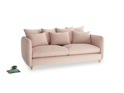Large Podge Sofa in Pink clay Clever Softie
