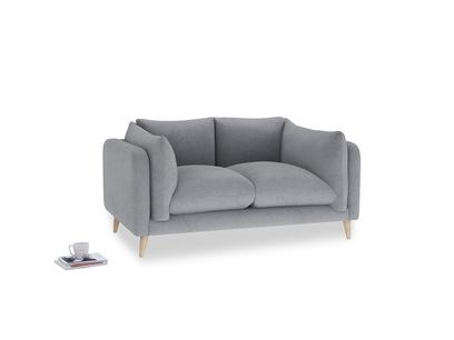 Small Slow-Mo Sofa in Dove grey wool