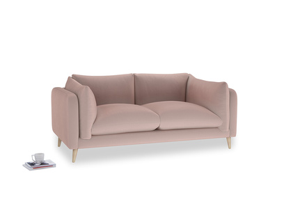 Medium Slow-Mo Sofa in Rose quartz Clever Deep Velvet