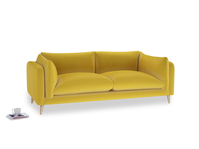 Large Slow-Mo Sofa in Bumblebee clever velvet