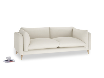 Large Slow-Mo Sofa in Chalky White Clever Softie