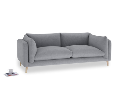 Large Slow-Mo Sofa in Dove grey wool