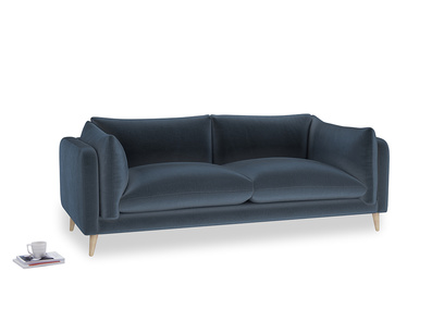 Large Slow-Mo Sofa in Liquorice Blue clever velvet