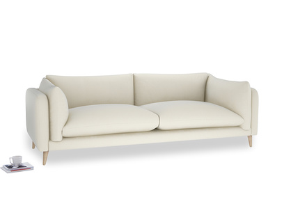 Extra large Slow-Mo Sofa in Alabaster Bamboo Softie
