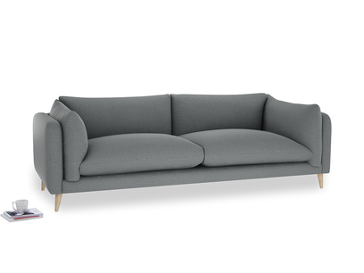 Extra large Slow-Mo Sofa in Cornish Grey Bamboo Softie