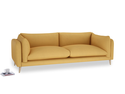 Extra large Slow-Mo Sofa in Dorset Yellow Clever Linen