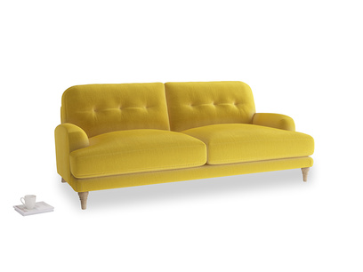 Large Sugar Bum Sofa in Bumblebee clever velvet