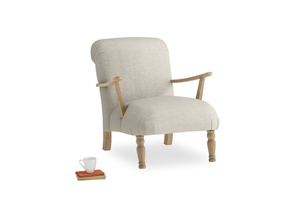 Brew Armchair in Thatch house fabric