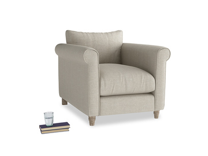 Weekender Armchair in Thatch house fabric