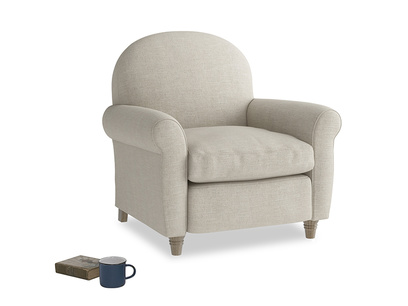 Club Armchair in Thatch house fabric
