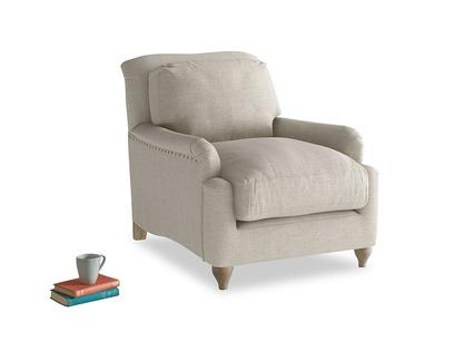 Pavlova Armchair in Thatch house fabric