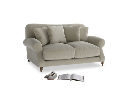 Small Crumpet Sofa in Blighty Grey Clever Cord
