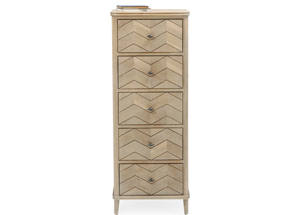 Tall Flapper chest of drawers