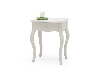 Mimi In Scuffed Grey bedside table