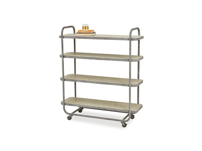 Busboy shelves
