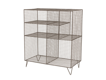 Low Wire shelves