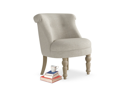 Bovary Armchair in Thatch house fabric