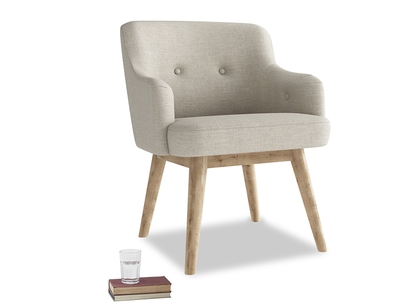Upholstered home office Smudge study chair
