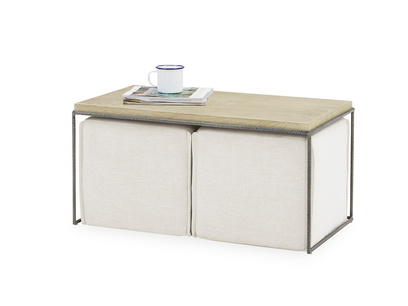 Caboodle nesting coffee table