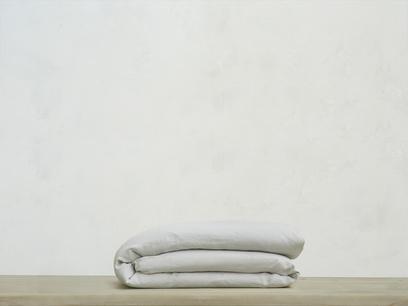Kingsize Lazy Linen duvet covers in Light Grey
