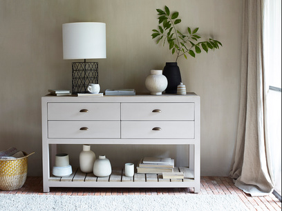 Provender sideboard in Pale Grey