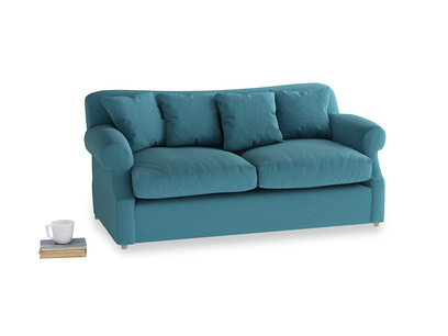 Medium Crumpet Sofa Bed in Lido Brushed Cotton