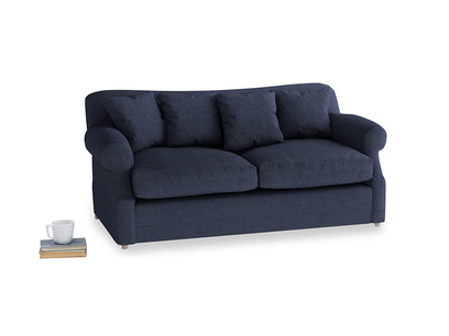Medium Crumpet Sofa Bed in Seriously Blue Clever Softie