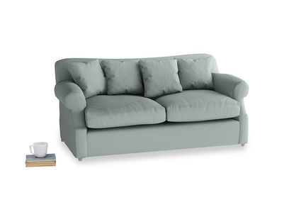 Medium Crumpet Sofa Bed in Sea fog Clever Woolly Fabric