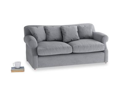 Medium Crumpet Sofa Bed in Dove grey wool