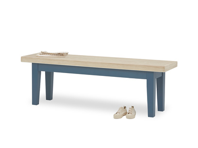 Plonk kitchen bench in Heritage Blue