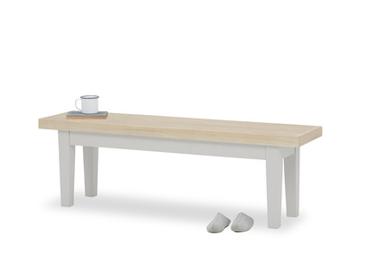 Plonk kitchen bench in Pale Grey
