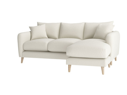 Oat Brushed Cotton Squishmeister LA LH Chaise