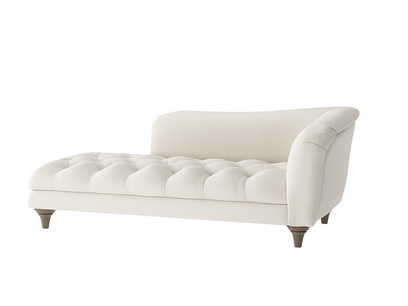 Oat Brushed Cotton Slumber Jack Chaise RH