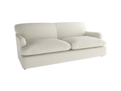 Oat Brushed Cotton Pudding Sofabed Large