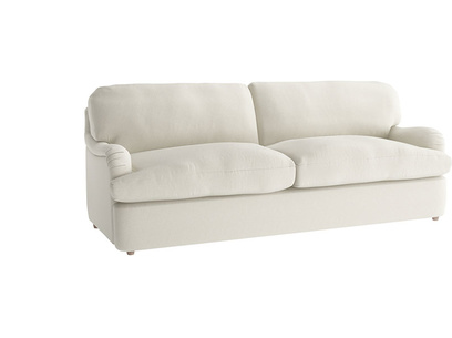 Oat Brushed Cotton Jonesy sofa bed LA