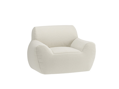 Oat Brushed Cotton Layabout Chair