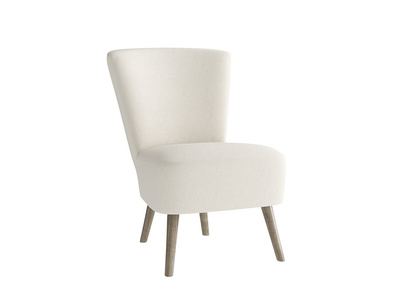 Oat Brushed Cotton Bellini Chair