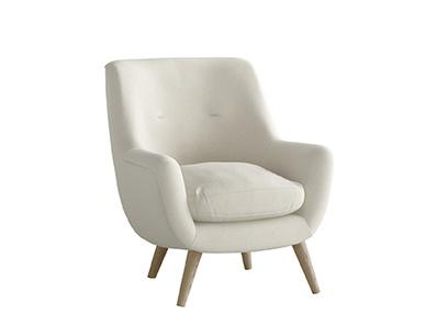 Oat Brushed Cotton Berlin Armchair