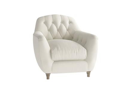 Oat Brushed Cotton Butterbump Armchair