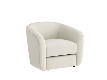 Oat Brushed Cotton Tootsie Chair